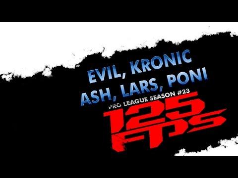 125fps #23 - evil, poni, lars, ash, kronic - Group D2 - Quake Live