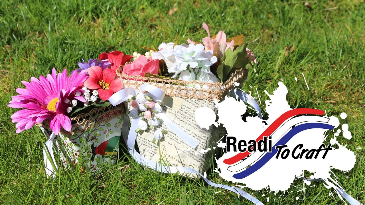 Readi to Craft: May Day Basket