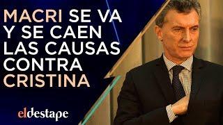 Macri se va y se caen las causas contra Cristina | El Destape con Roberto Navarro
