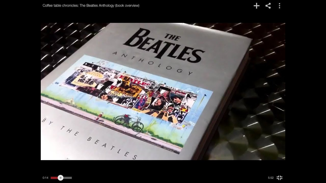 Coffee Table Chronicles The Beatles Anthology Book