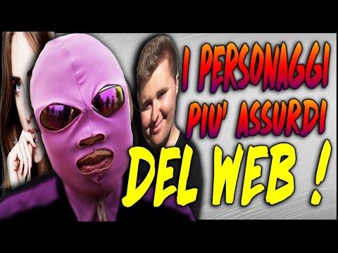 I PERSONAGGI PIU' ASSURDI DEL WEB! #10 Il peggio dell'Internet ! | Awed™