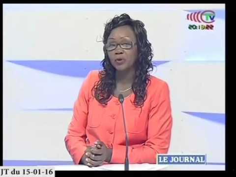 TELE  CONGO JT du 15/01/2016