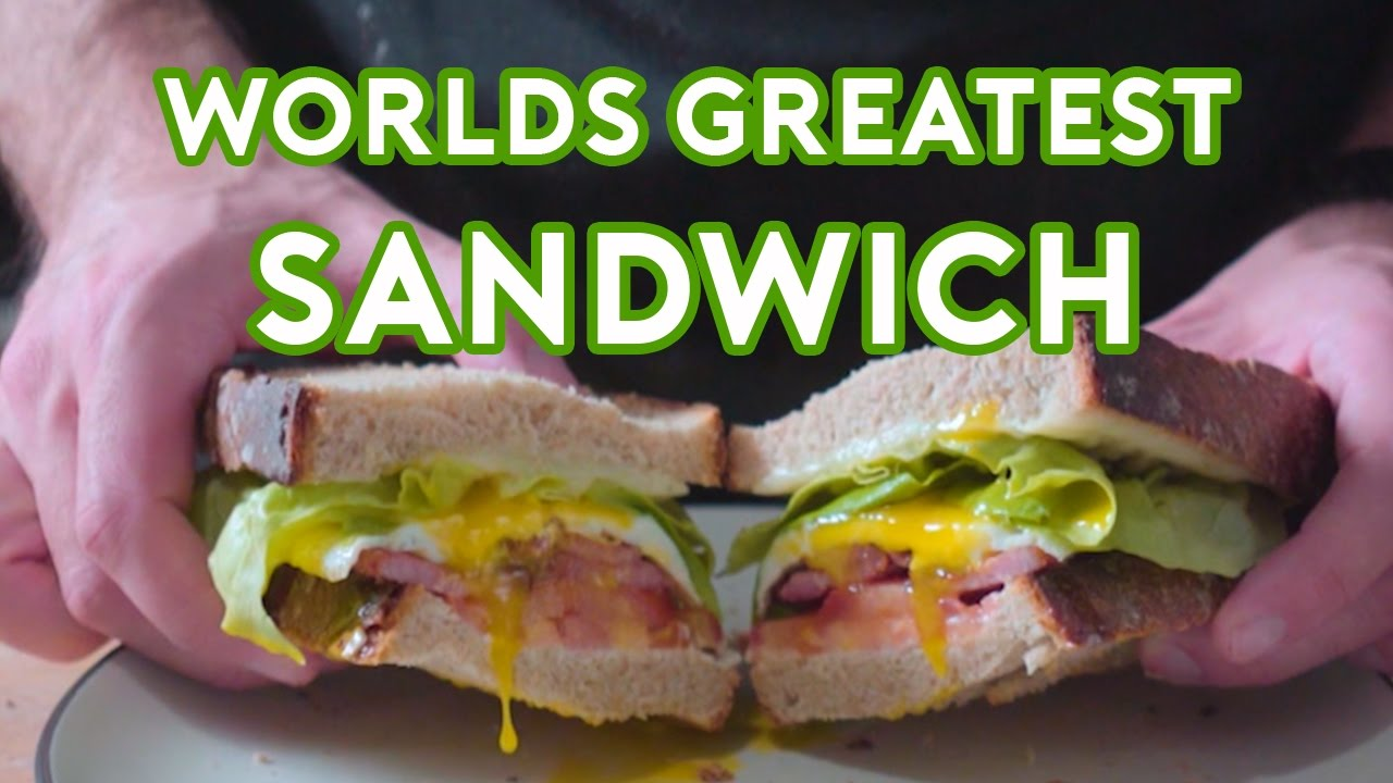 Binging With Babish World S Greatest Sandwich From Spanglish Youtube