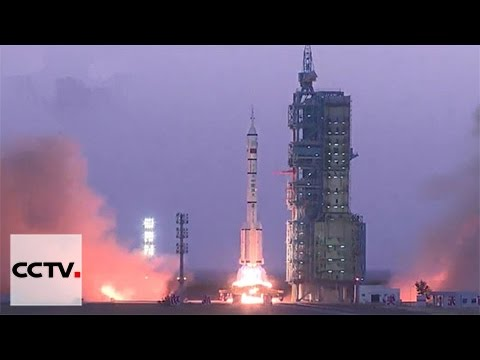 Video: China launches Shenzhou-11 manned spacecraft successfully