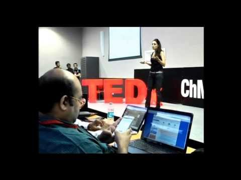 3 things for success in cinema: Lekha Washington at TEDxChMCollege