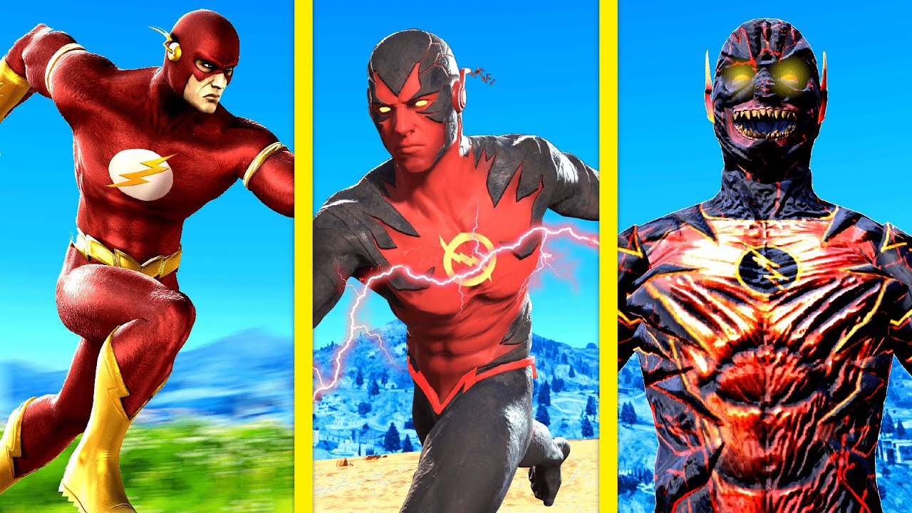 Download UPGRADING THE FLASH Into A GOD In GTA 5 Mods ... (Secret Powers!)