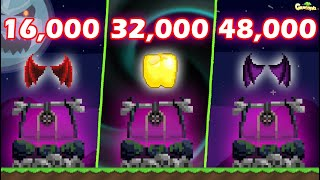 Basic VS Normal VS Ultimate DARK TICKET (Tomb of Growganoth) PRIZE!! (PROFIT!!) | GrowTopia