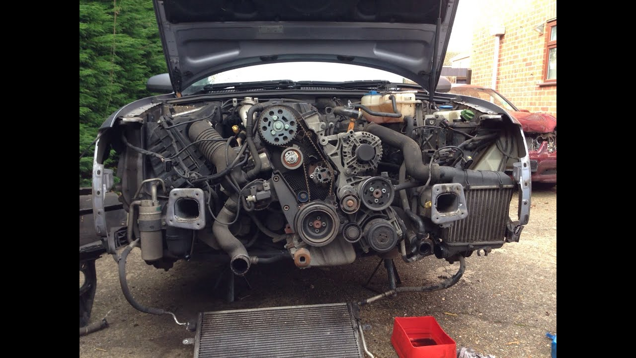audi a4 b6 1 9 tdi diy timing belt change [ 1280 x 720 Pixel ]