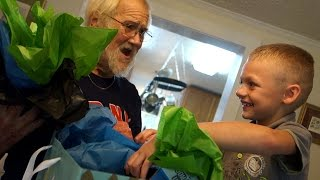ANGRY GRANDPA THROWS A BIRTHDAY PARTY!