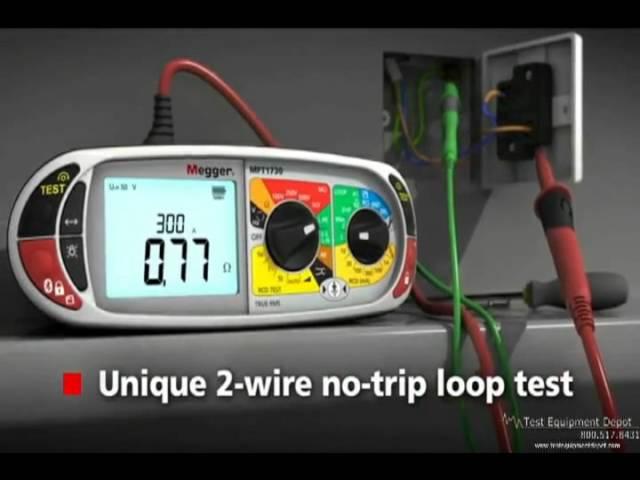 Megger MFT1730 Multifunction Tester