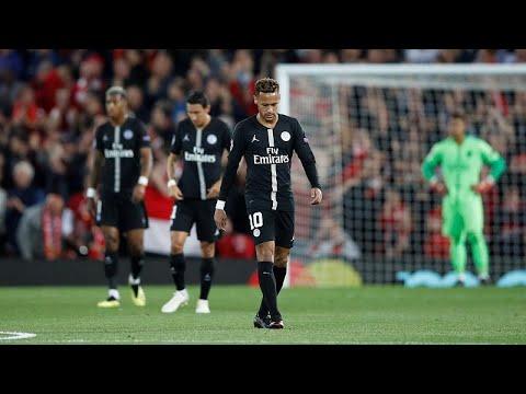 euronews (en français): Le PSG coule d'entrée à Liverpool