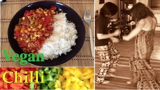 Vegan Chilli Con Carne with Dancing! HCLF Starch Solution  Raw Till 4