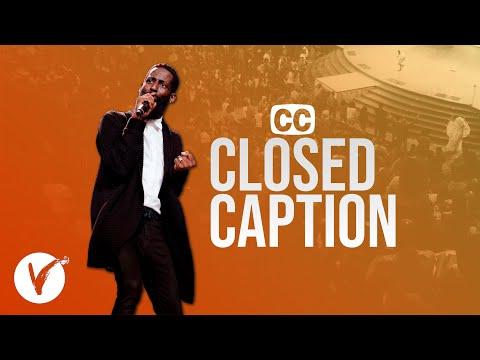 Closed Caption | Pastor Tye Tribbett | LiVe Church Orlando