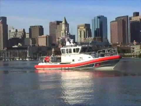 Boston's New Search And Rescue Boat