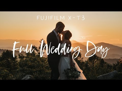 Wedding Photography: Full Wedding Day Behind the Scenes with the Fujifilm XT3