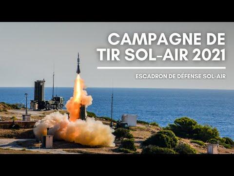 EDSA : campagne de tir sol-air 2021