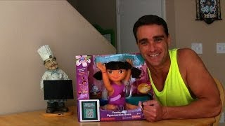 Fantastic Gymnastics Dora Doll Unboxing!    Dora The Explorer Toy Reviews    Konas2002