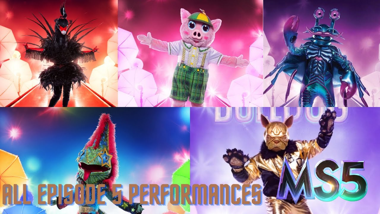 All #MS5 Episode 5 Performances (Group B Finals) | The Masked Singer Season 5
