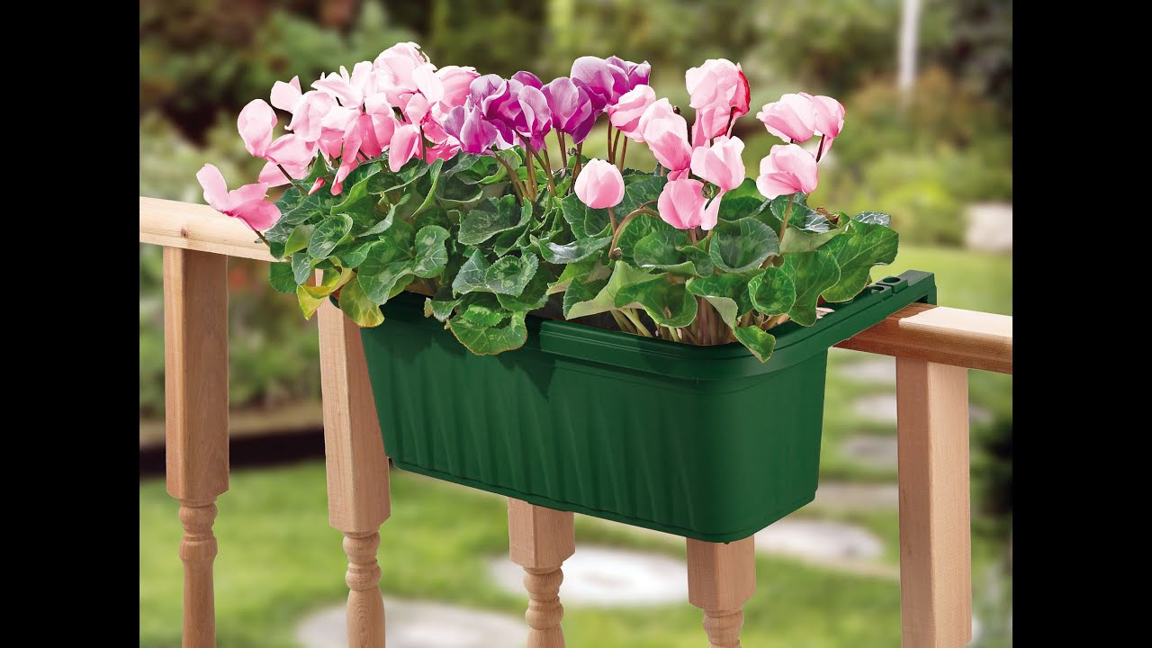 24 Adjustable Railing Planter From Apollo Exports Youtube
