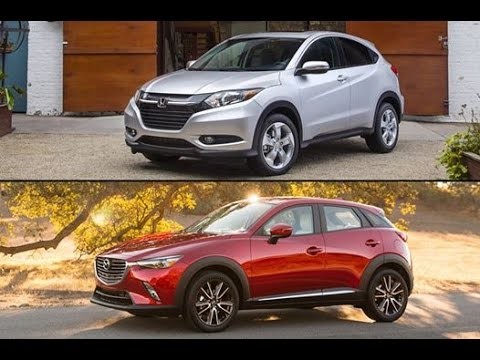 Cx 3 Vs Hrv >> Honda Hr V Vs Mazda Cx 3 Youtube