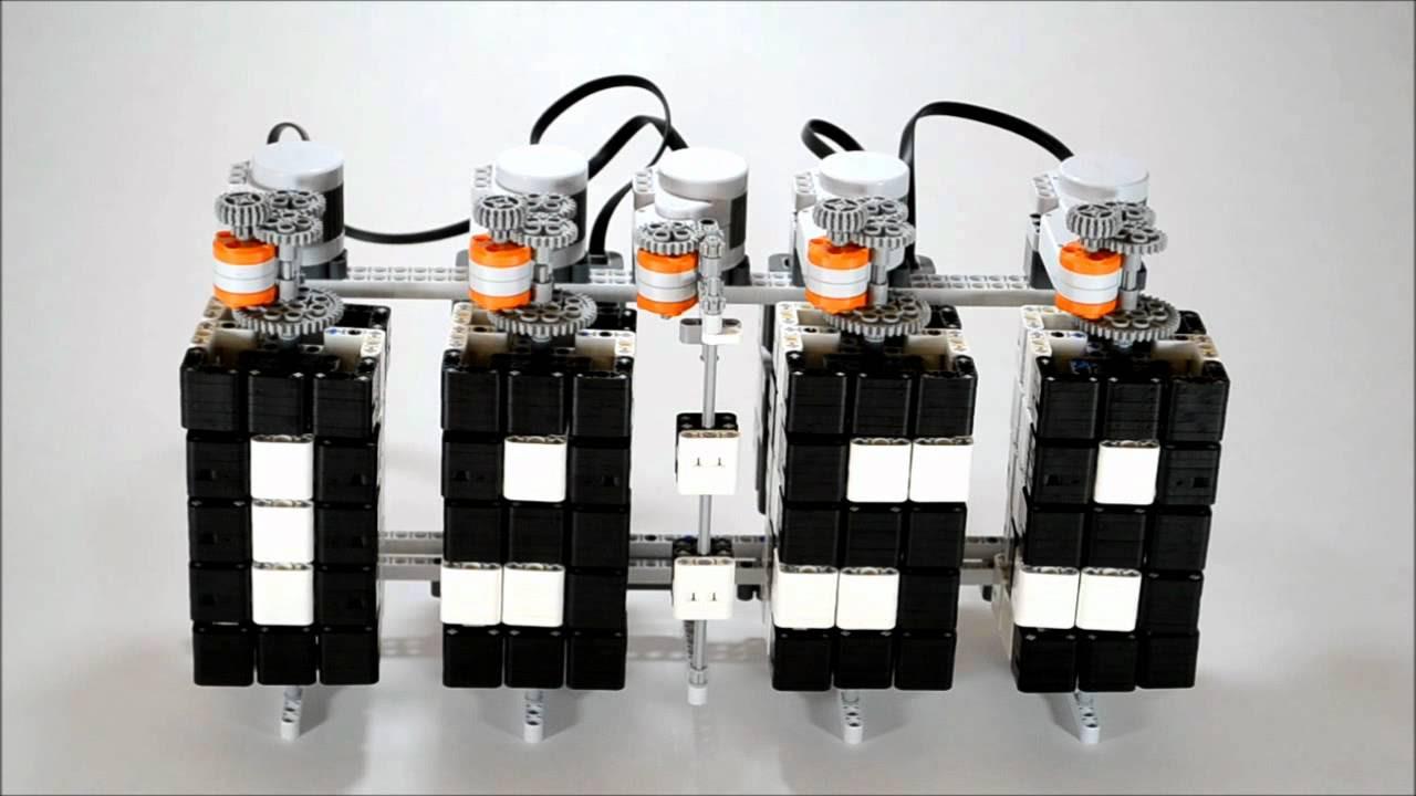 робот для кегельринга lego схема