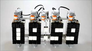 Time Twister - LEGO Mindstorms Digital Clock thumbnail