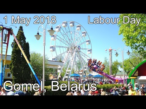 May 1, 2018 | Labour Day in Gomel, Belarus