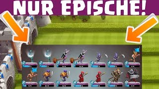 NUR EPISCHE KARTEN! || CASTLE CRUSH || Let's Play Castle Crush || MrMobilefanboy