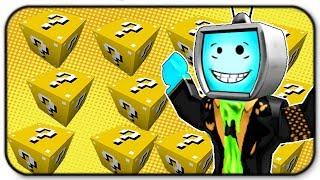 Roblox Lucky Block Campi di battaglia - Ho ottenuto alcuni dei nuovi oggetti