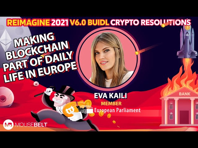 Eva Kaili - Member of European Parliament - Blockchain to Solve Global Problems