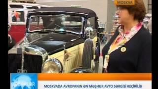 Выставка антиквариата и старинных автомобилей И  Рустамов