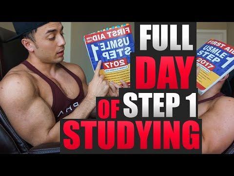 MED STUDENT VLOG | USMLE Step 1 Full Day of Studying