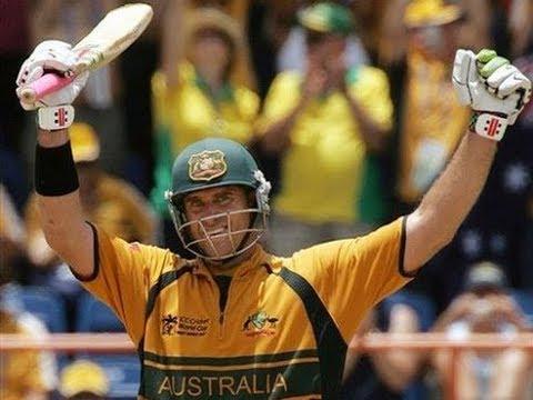 Matthew Hayden 158 Vs Windies in 2007 Cricket World Cup