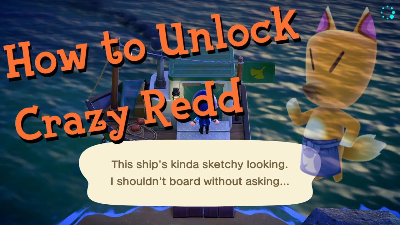 How To Unlock Crazy Redd S Shop In Animal Crossing New Horizons Youtube