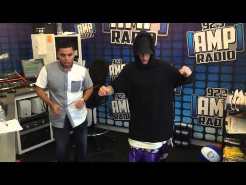 Justin Bieber Dancing Merengue with Shoboy 92.3 Amp Radio Shoboy In The Morning NYC