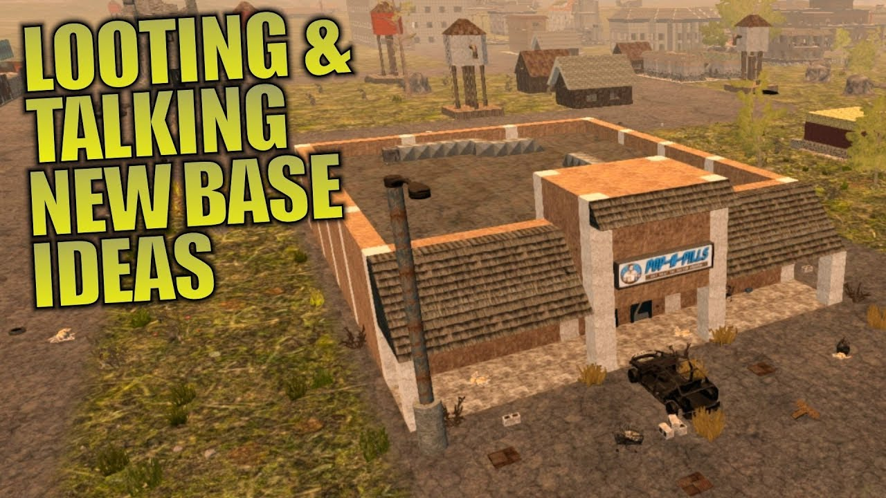 NEW BASE IDEAS   Darkness Falls MOD 7 Days to Die   Let's Play Gameplay Alpha 16   S01E13