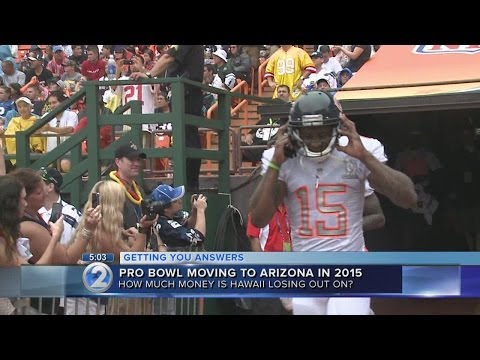 Pro Bowl to be played in Arizona in 2015, return to Hawaii in 2016