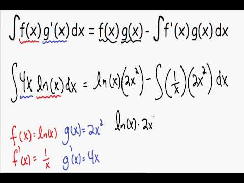 integration by parts examples pdf