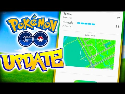 Pokemon Go Mini Update! Map System Brought Back?