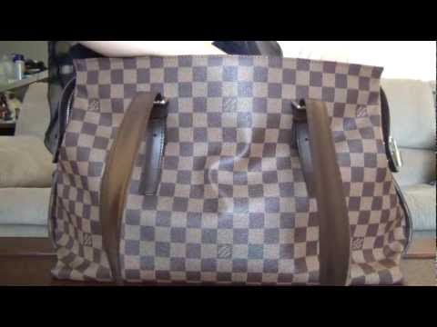 My Louis Vuitton Collection Part 15--Damier Ebene Chelsea Tote Bag