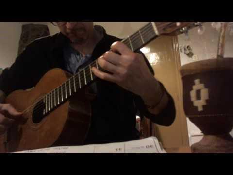 LA YUMBA (solo guitar) by Sergio Fulqueris