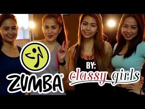 Classy Girls Zumba Exercise