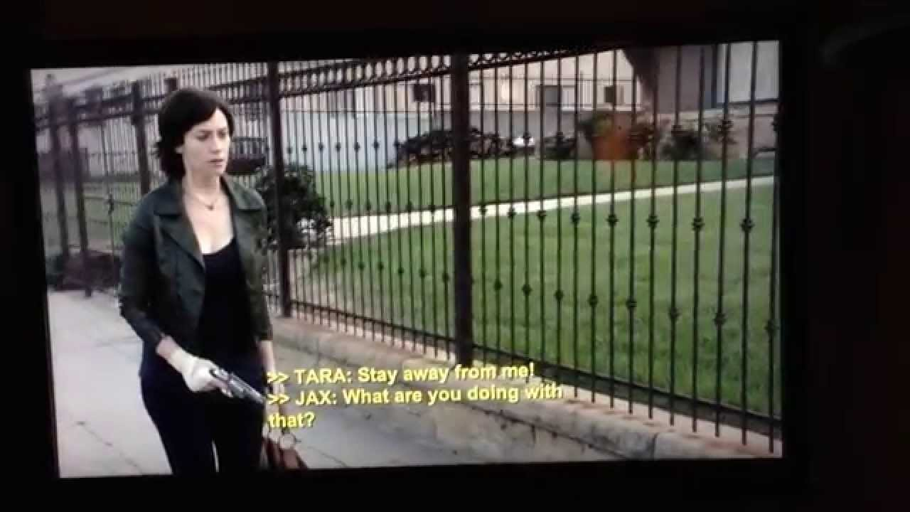 Tara And Jax, Sons Of Anarchy Scene Season 6 Episode 10 -9631