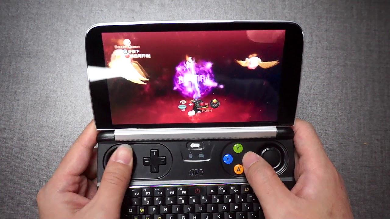 maxresdefault - ゲーム用ミニノート「GPD WIN」に新作機種が発表される。これでSTEAMやエミュやるわけか。