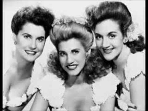 The Andrews Sisters - Show Me The Way To Go Home (c.1958).
