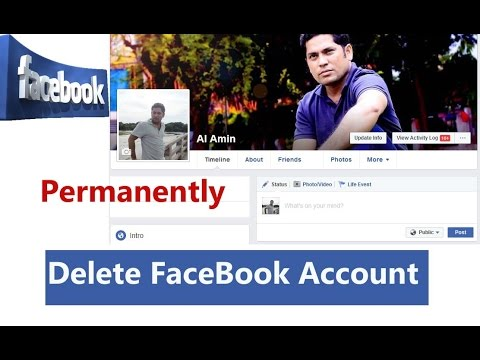 How to delete facebook account permanently delete fb account youtube how to delete facebook account permanently delete fb account ccuart Choice Image
