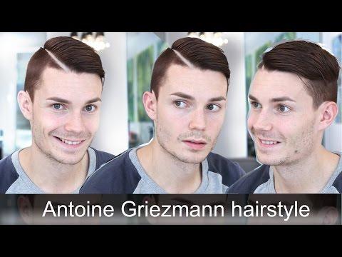 Antoine Griezmann   Men's Hair Tutorial   Slikhaar TV