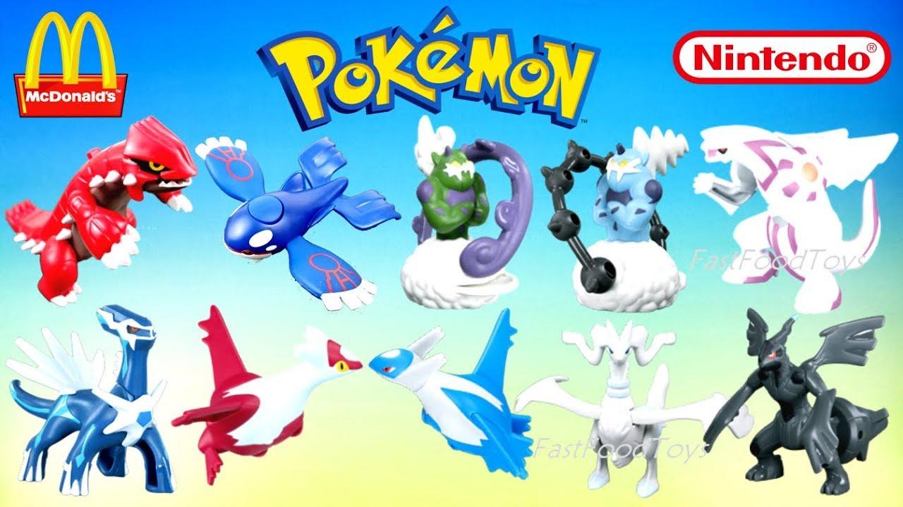 2019 Full World Set Mcdonald S Pokemon Happy Meal Toys Tcg