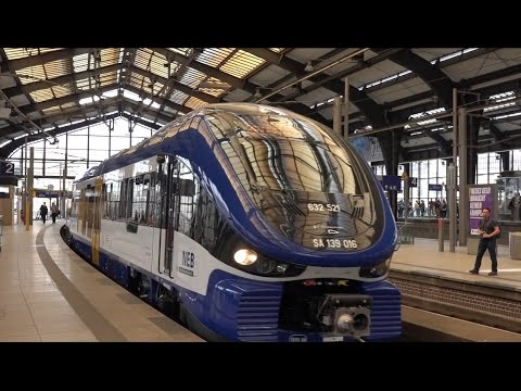 16.6.2016: ERSTER ZUGELASSENER PESA LINK ZUG DER NEB IN BERLIN