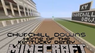 Churchill Downs - Minecraft Creative Build